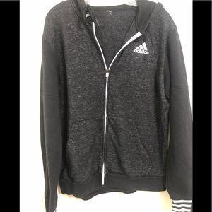 Adidas zipper hoodie